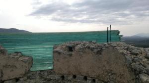 Χτίσιμο πύργου με γυαλί 10 χιλ στο Γεράκι Λακωνίας